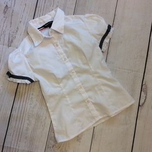 French Toast Short Sleeve Button Front Shirt 7